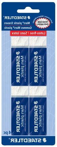 STAEDTLER Mars Plastic, Premium Quality Vinyl Eraser, White,
