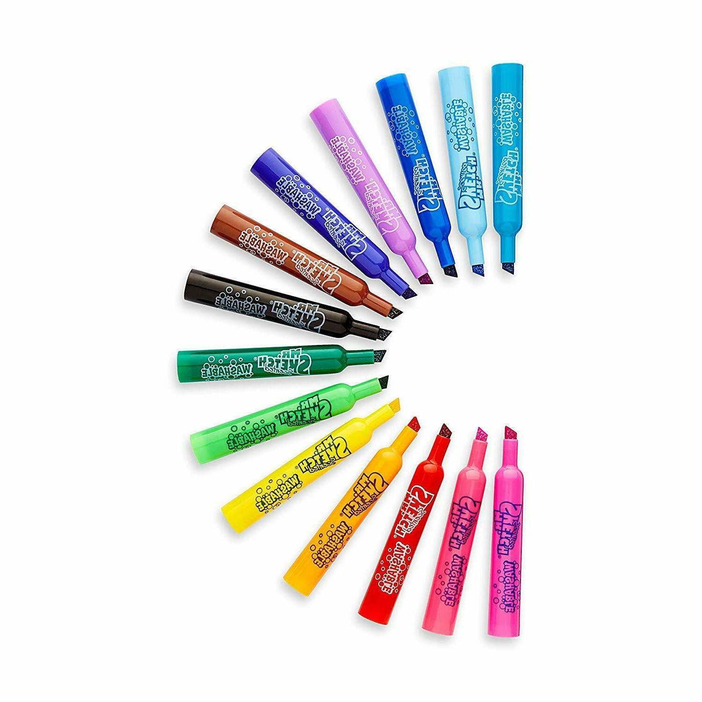 Mr. Sketch Markers Assorted Colors Tip