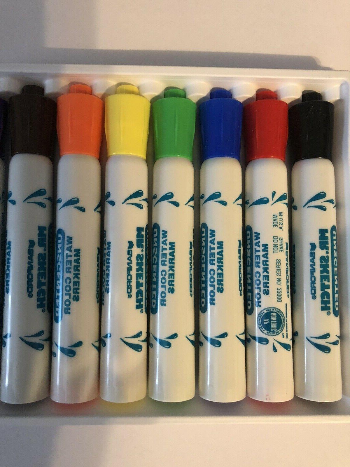 Mr. Unscented Markers Chisel Tip Colors, 8/ Kid