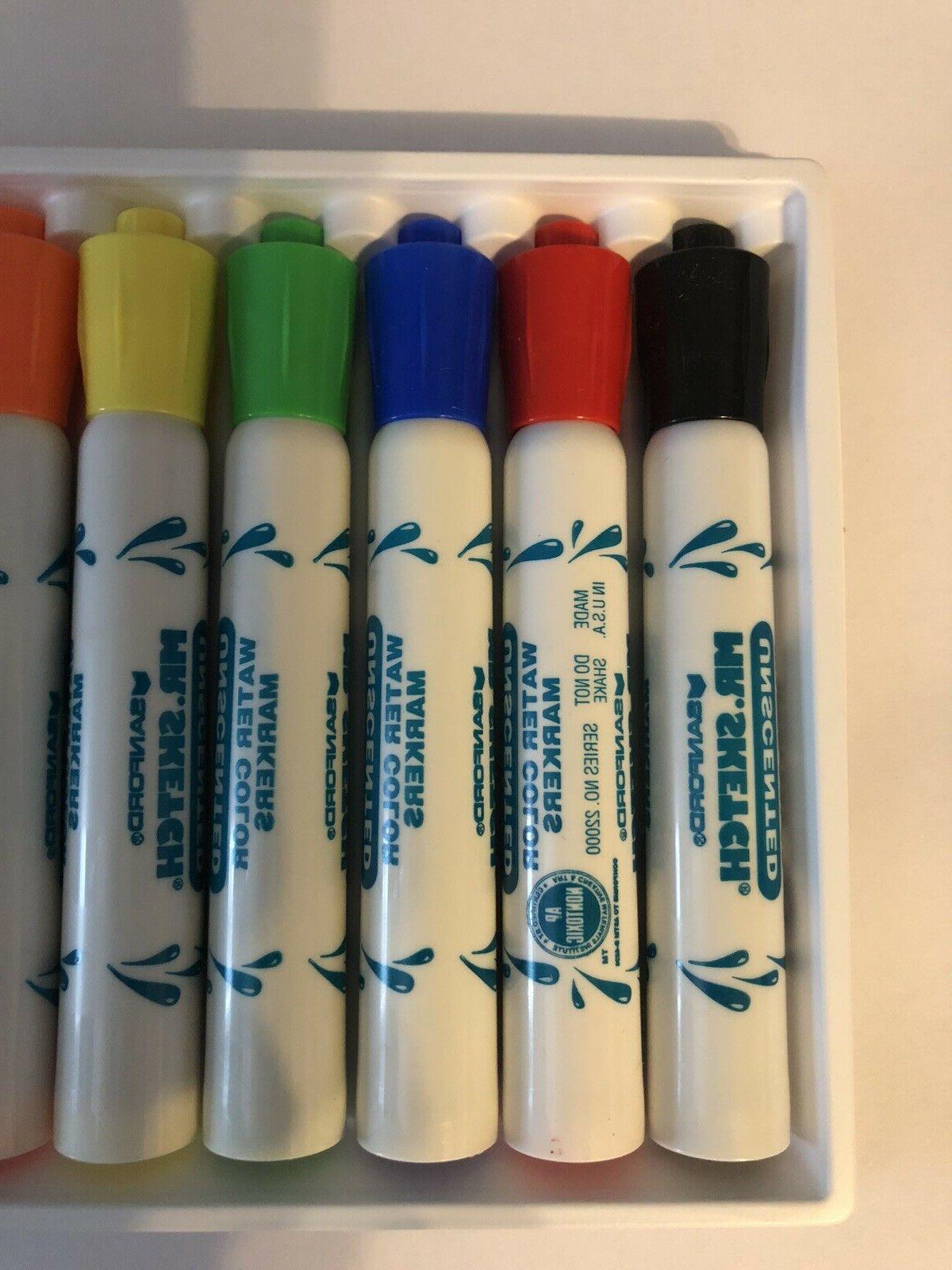 Mr. Sketch Unscented Markers Chisel Colors, 8/ Kid