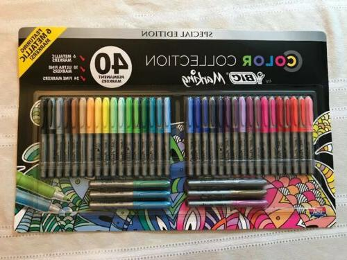 new marking color collection assorted 40 count