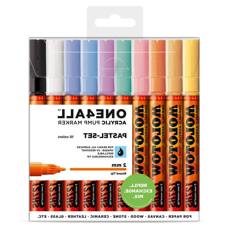 one4all 127hs pastel set 10 markers