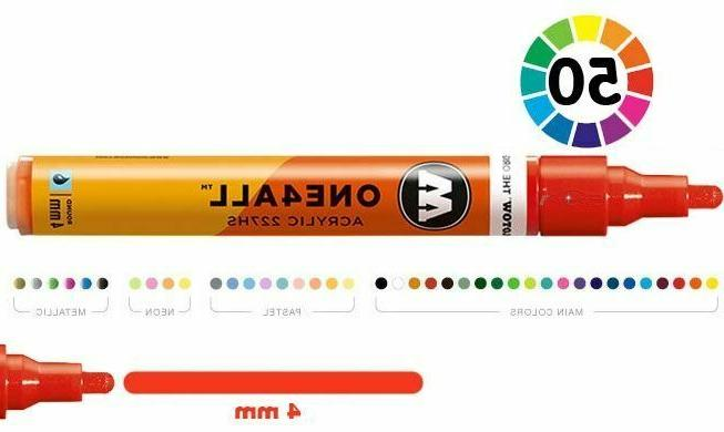 one4all 227hs 4mm acrylic paint marker single