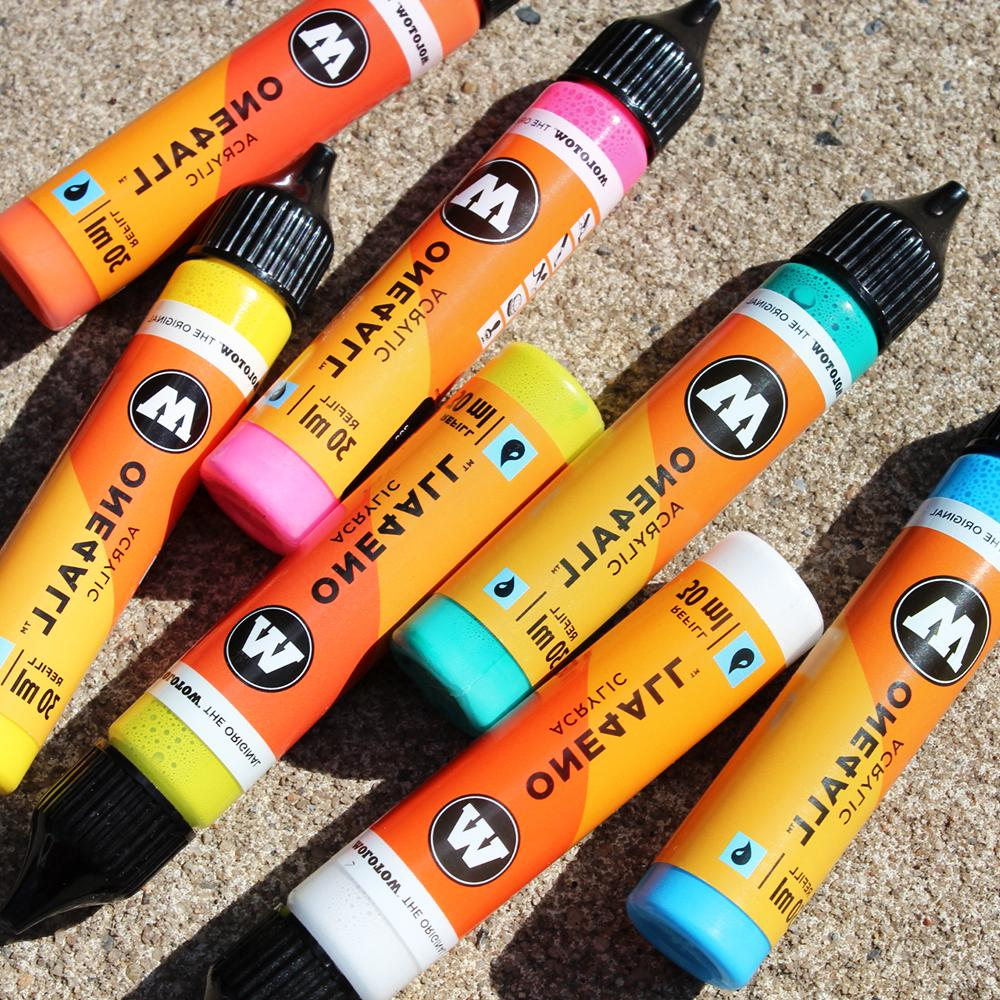 one4all 30ml acrylic refill inks for art