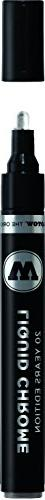 Molotow ONE4ALL Acrylic Paint Pump Marker, 4mm, Liquid Chrom