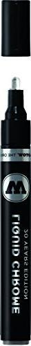 Molotow ONE4ALL Acrylic Paint Pump Marker, 4mm, Liquid Chrom