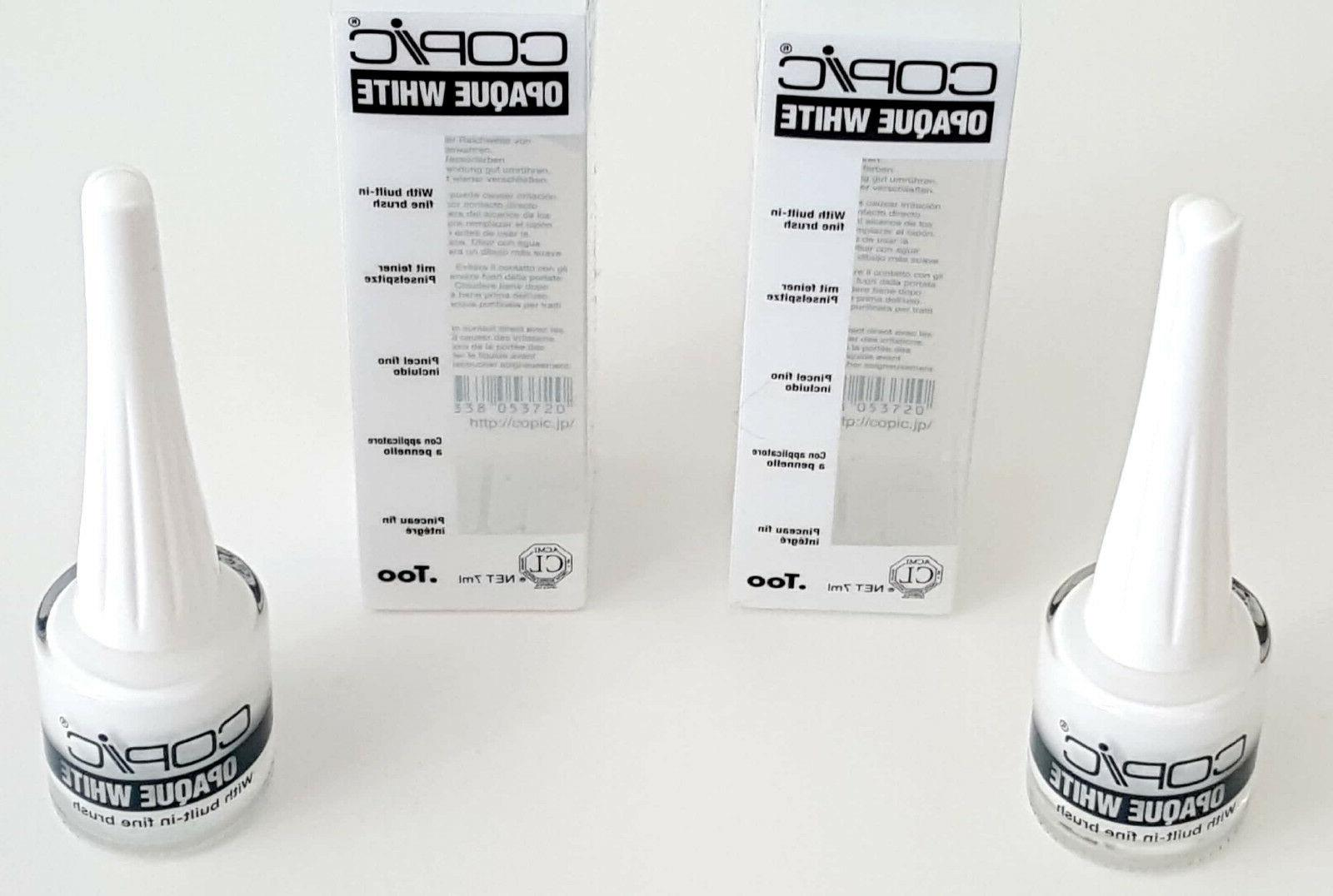 Copic Opaque White Pigment W/Brush 10Ml