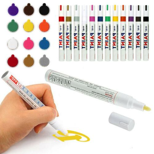 PAINT MARKERS - BASED - SET 12 FINE NEW