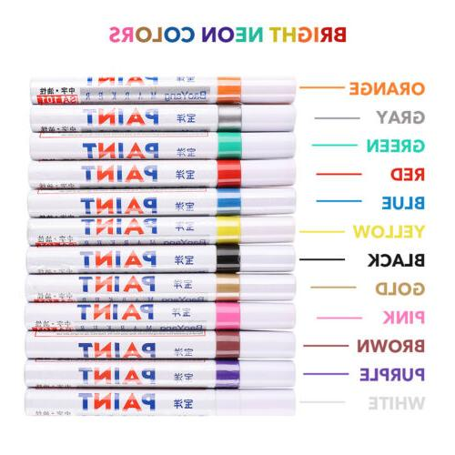 Paint Markers Based Set Of 12 Rubber