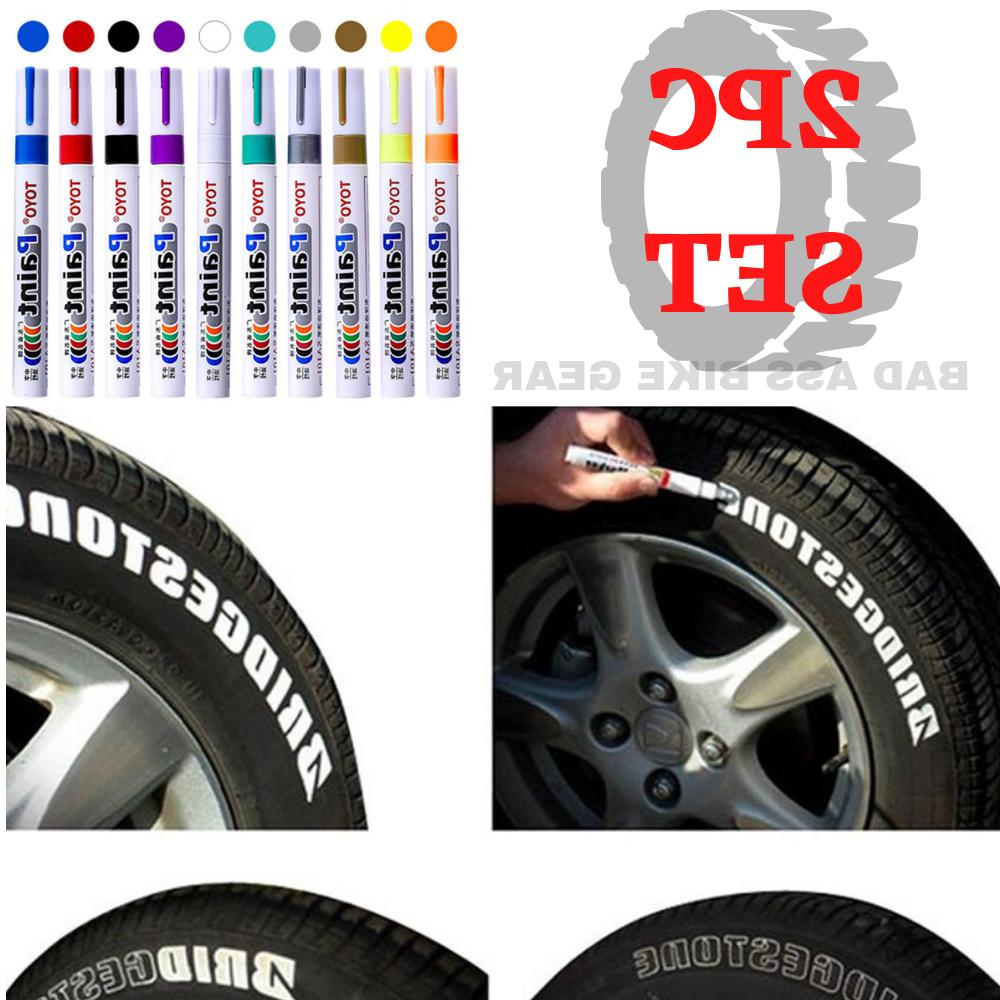 paint pen waterproof permanent marker car tire