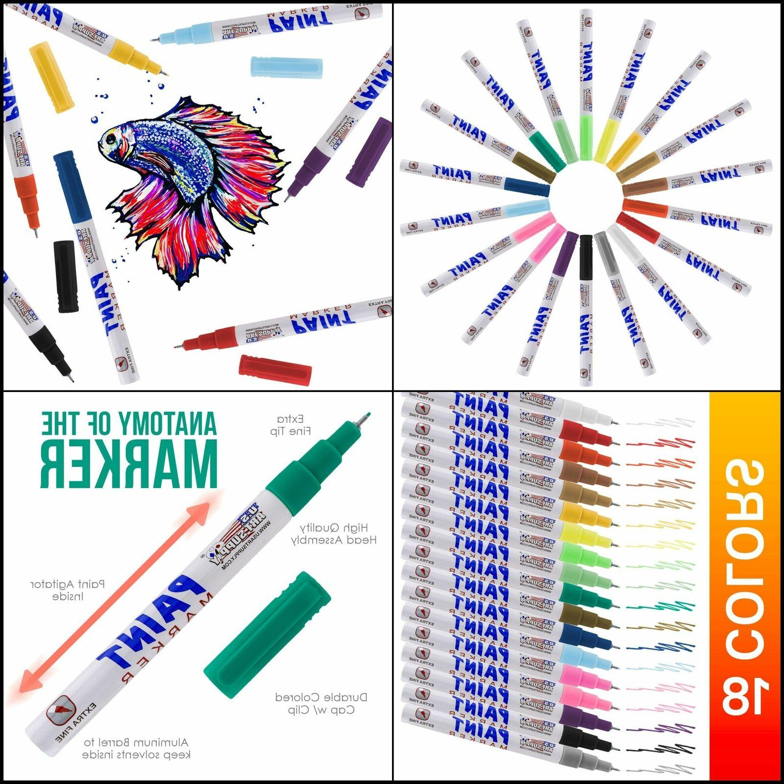 Paint Pens Marker Extra Set New