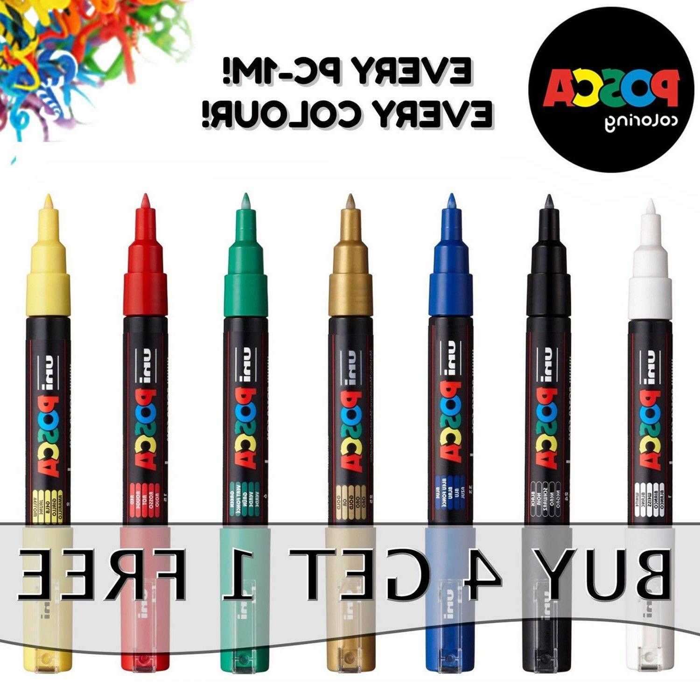 pc 1m fine paint markers pens bullet