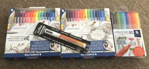 Staedtler Color Pen Set, Set of 36 Assorted Colors