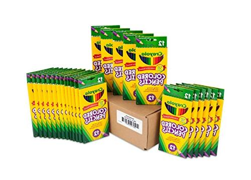 Crayola Colored Each , Assorted Colors - 68-0004