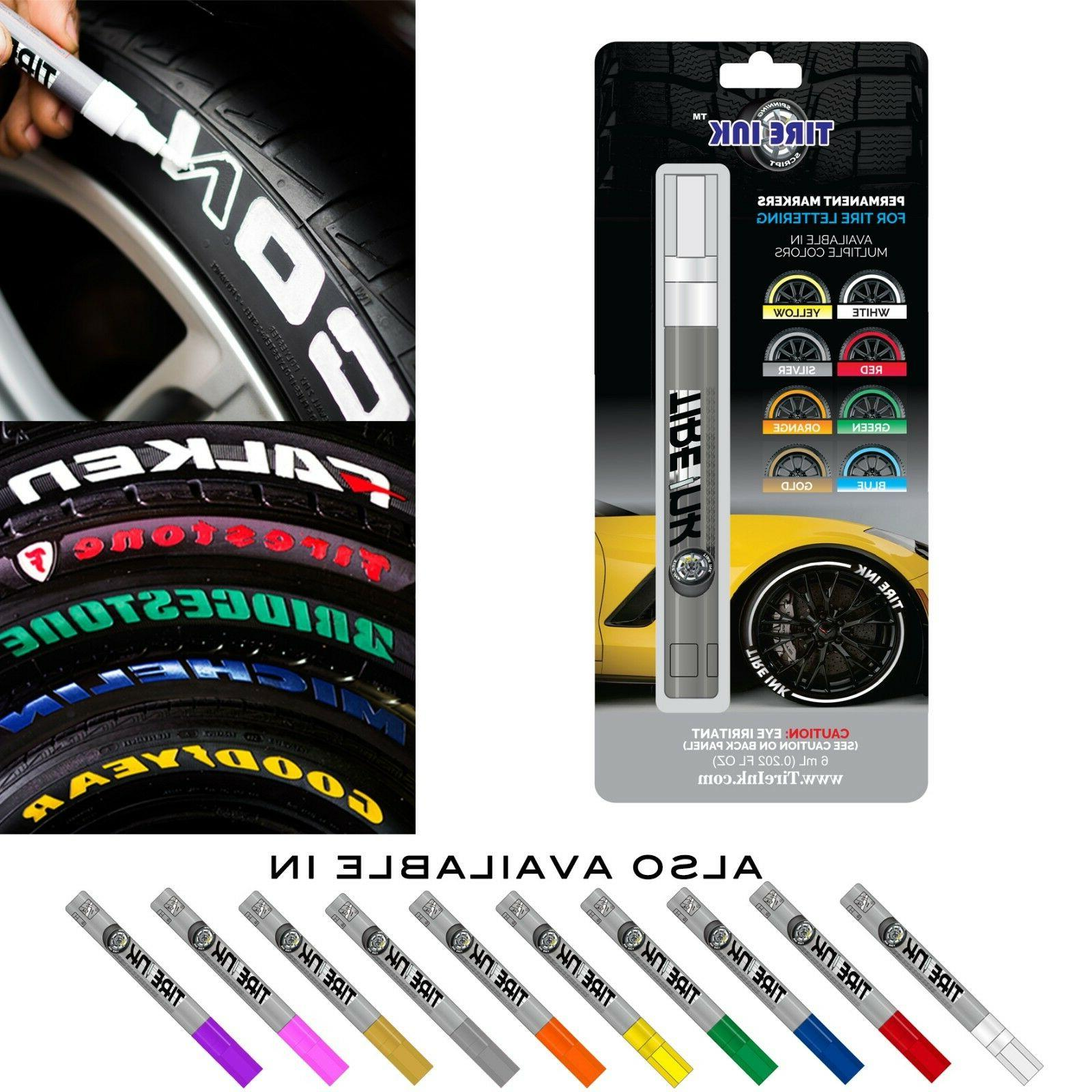 permanent marker for tire lettering paint pen