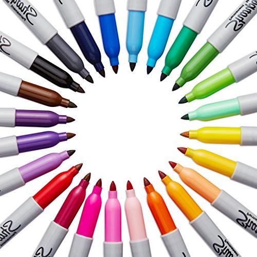 Sharpie Fine Point - Assorted Colors 24