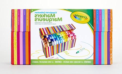 Crayola Pip-Squeaks Collection, Markers, 64Count,