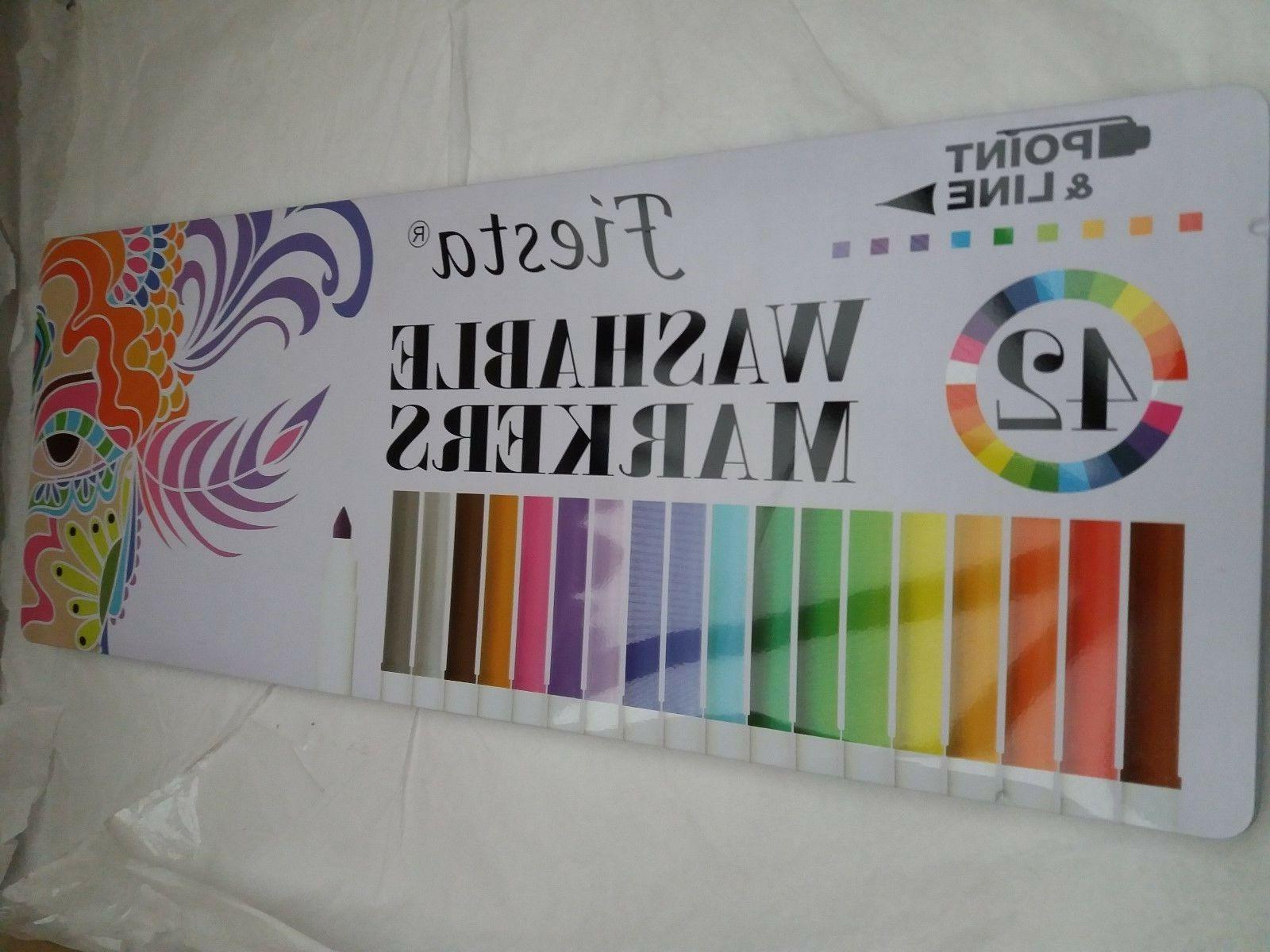point and line fiesta 42 washable markers