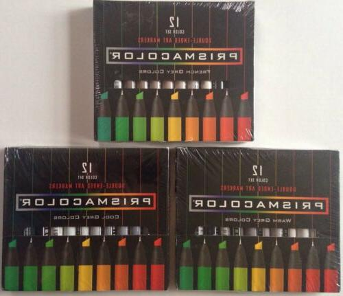 premier double ended art markers french cool