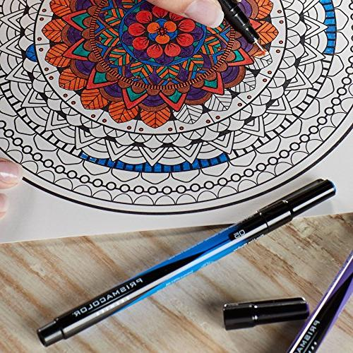 Prismacolor Premier Illustration Markers, Extra Fine Tip, 8-Count