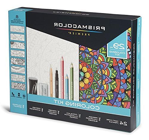 premier pencils coloring kit