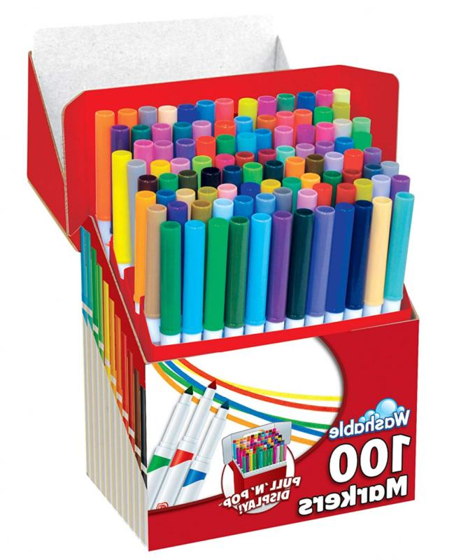 RoseArt Color Washable Markers 100-Pack