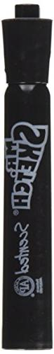 Mr. Sketch Scented Marker, Chisel Tip, Black, 1 Count