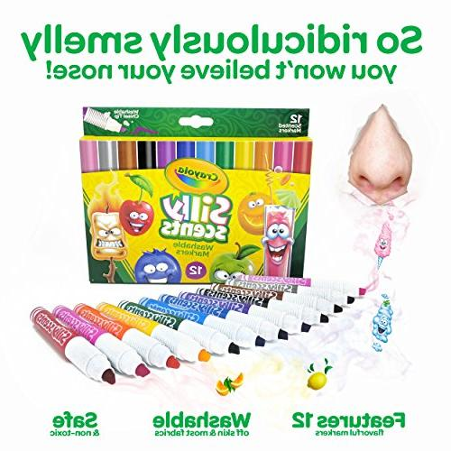 Crayola Silly Washable Scented
