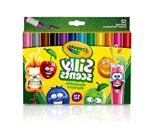 Crayola Silly Scents, Washable Scented Ct