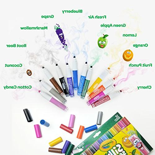 Crayola Silly Scented 12