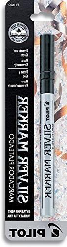 Pilot Pen Corporation of America Silver Metallic Extra Fine