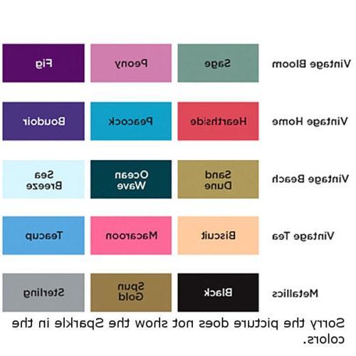Spectrum Flexible Fine Glitter Markers -