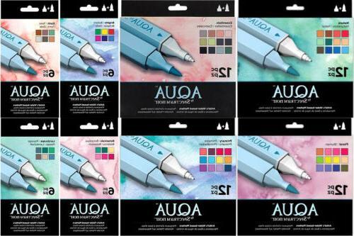 spectrum noir aqua marker sets watercolor based