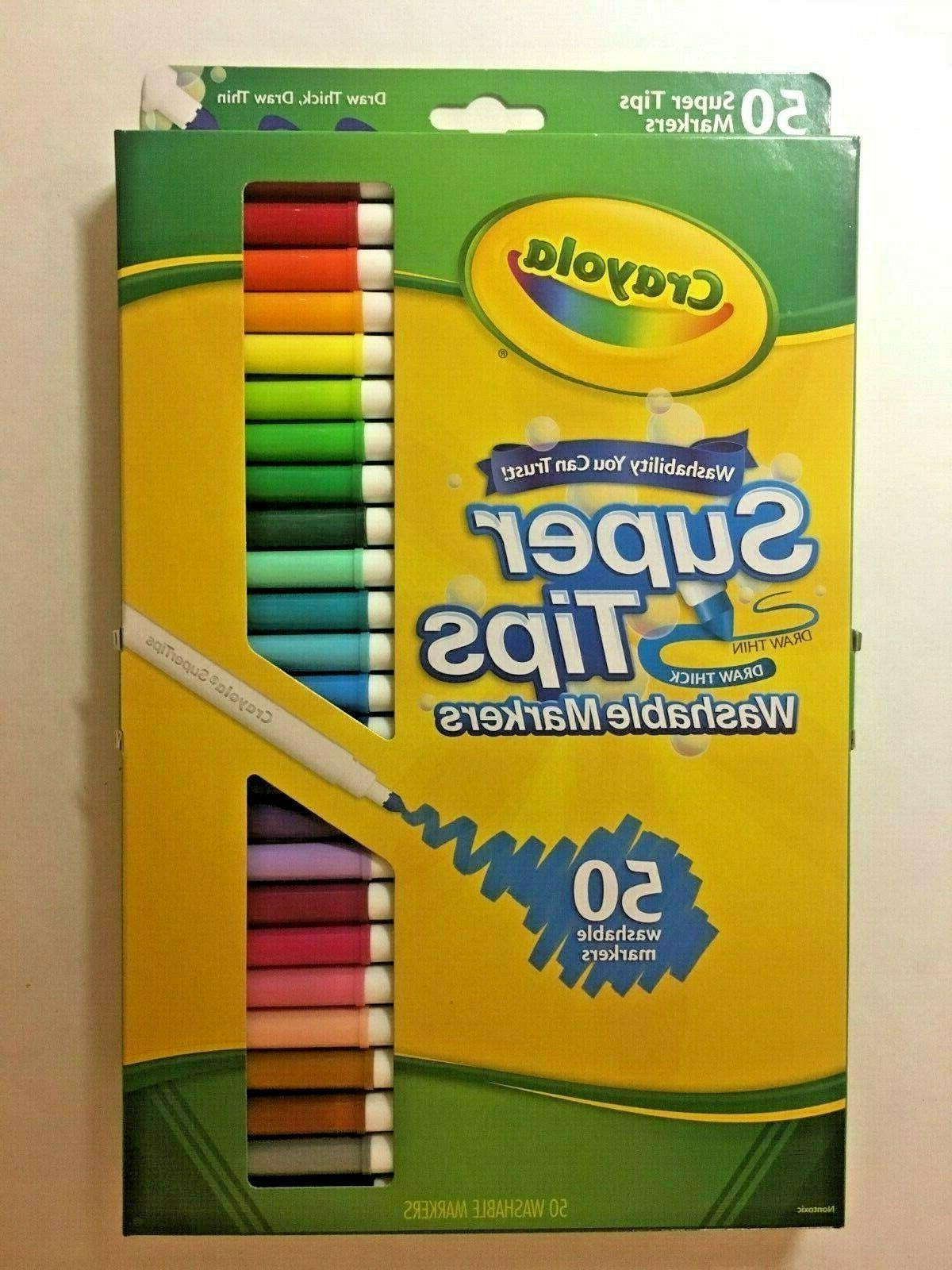 super tip markers washable markers 50 count