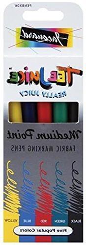 Jacquard Tee Juice Medium Point Fabric Markers