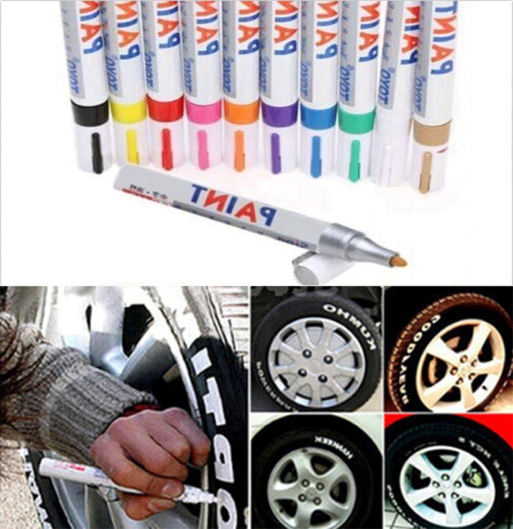 tire permanent paint marker pen car tyre