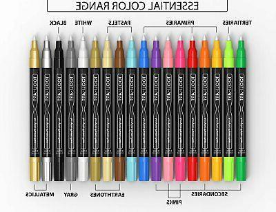 TOOLI-ART 18 Pens 0.7mm