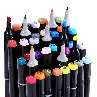 Twin Permanent Color Paint Art Dual Tips
