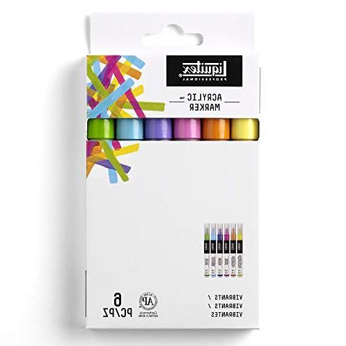 vibrant fine paint marker set