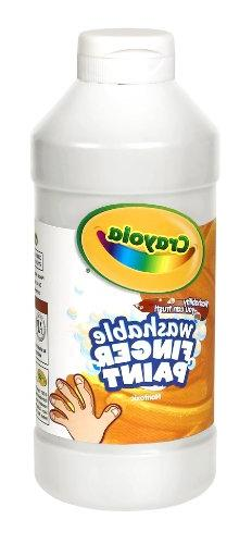 Crayola; Washable Fingerpaint; Art Tools; 32-Ounce Plastic S