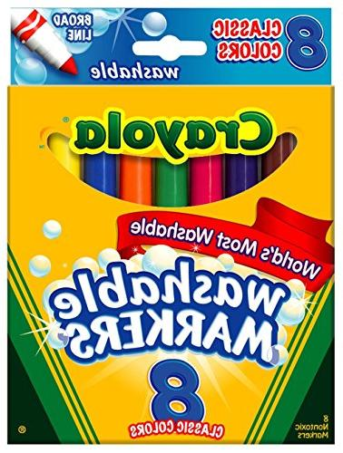Crayola Markers, Colors of 6