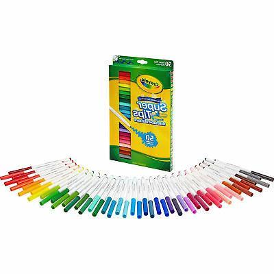 Crayola Fine Assorted Ink 50 /