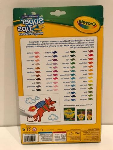 Crayola Washable Markers 50 New