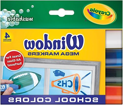 washable window mega set marker