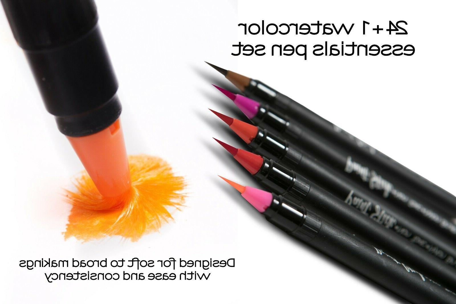 Watercolor Brush Pens Paint Markers Brush