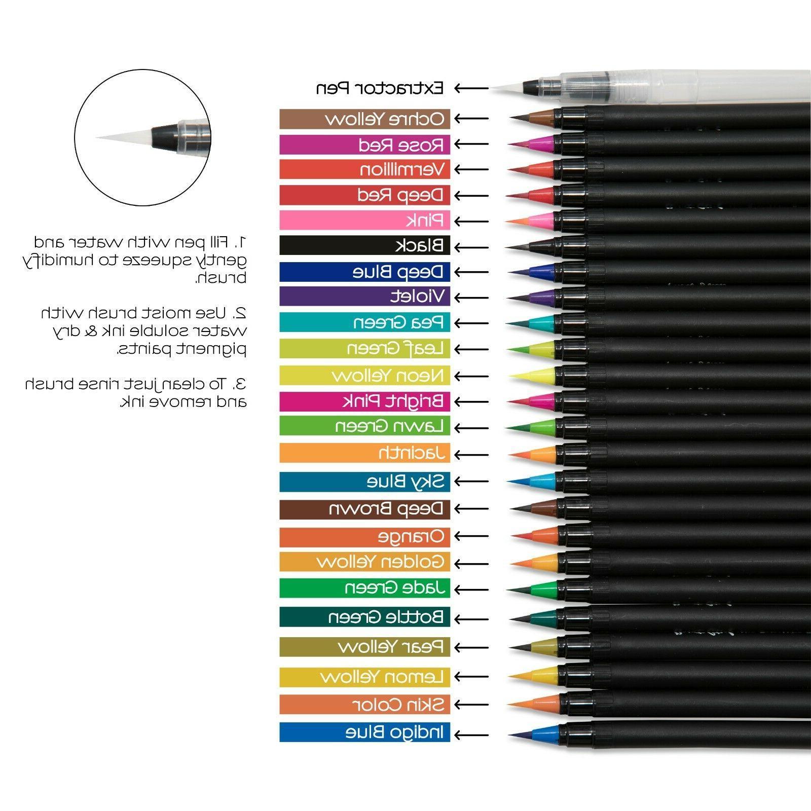 Watercolor Pens Brush Professional