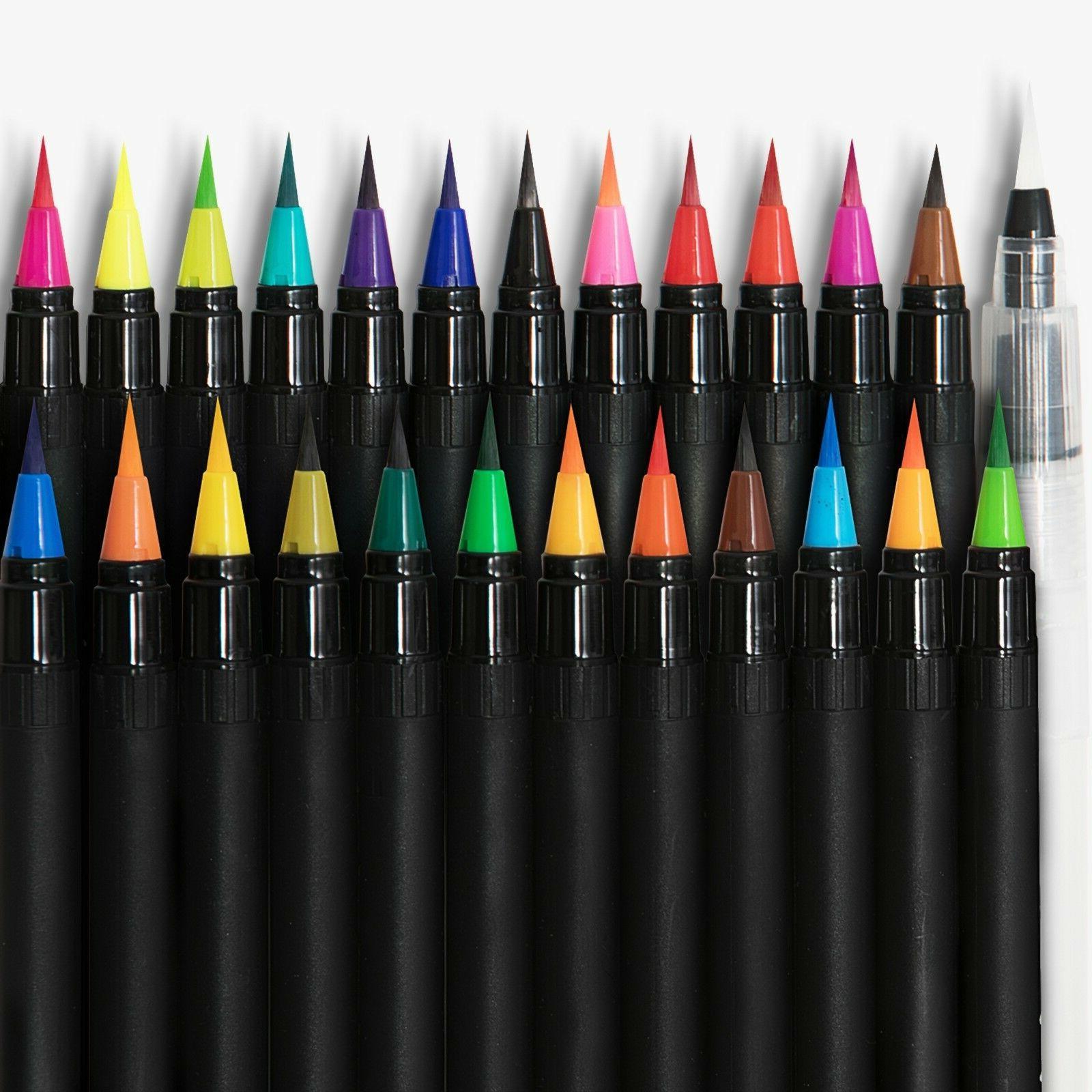 Watercolor Paint Brush Tips Professional Set