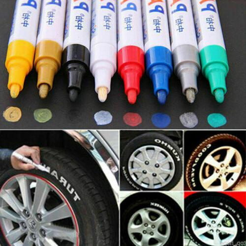 waterproof permanent paint marker pen for car
