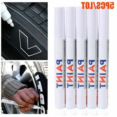 5PC White Pen Tire