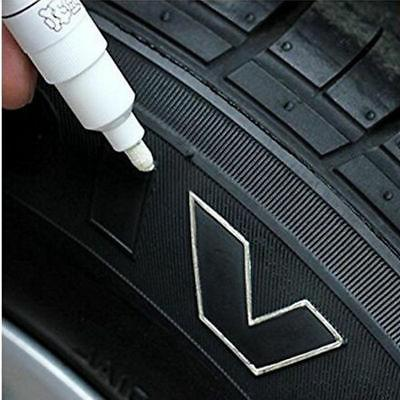 5PC Pen Marker Waterproof Tire Lettering Rubber